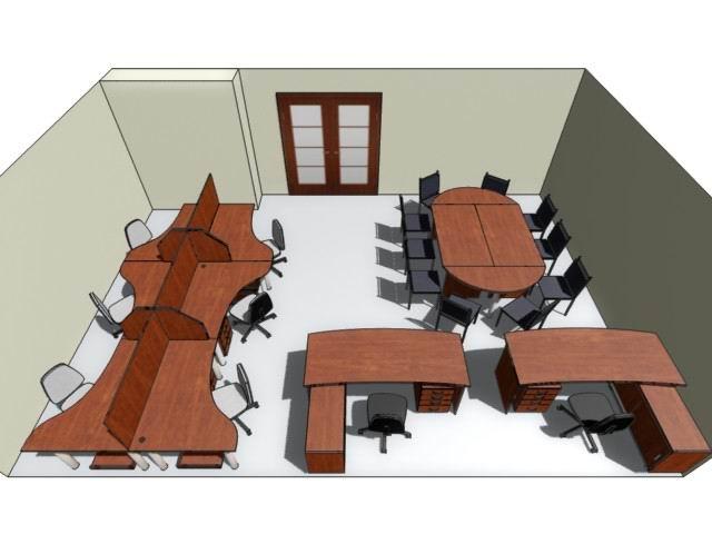Дизайн рабочего места для персонала №57, изготовленного на заказ